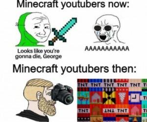 Zmiana u minecraftowych youtuberów