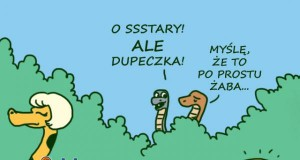 Ssstary, ale dupcia!