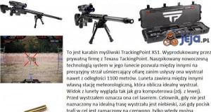 Nowoczesny karabin TrackingPoint XS1