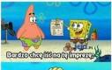 Spongebob i ograniczenia życia podwodnego