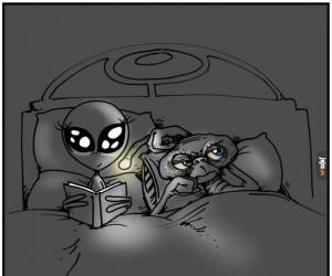 E.T. i jego łóżkowe problemy