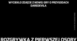 Wyciekło zdjęcie z nowej gry o przygodach Daredevila