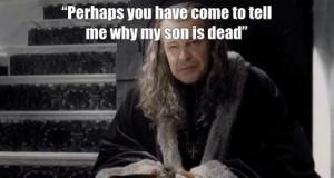 Sean Bean jest jak chodzący spoiler...