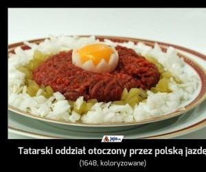 Tatarski oddział otoczony przez polską jazdę