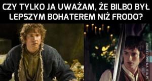 Bilbo ciekawszy niż Frodo?