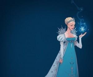 Księżniczki Disneya w strojach z różnych epok