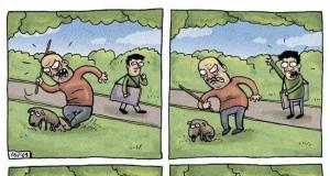 Pies i właściciel