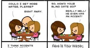 Ah ten obcy akcent