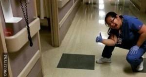 Uciekająca pijawka medyczna