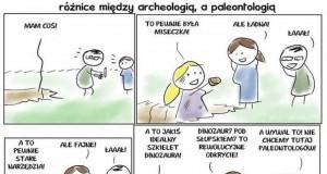 Archeolog vs paleontolog