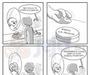 Krem na pryszcze