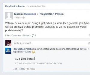PlayStation Polska trolluje