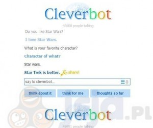 Co ten Cleverbot...