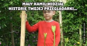 Mały Kamil...