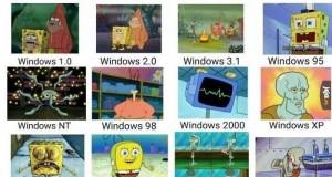 Spongebob i Windowsy