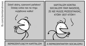 Kapitalizm kontra socjalizm