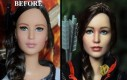 Artysta przemalował figurki, upodabniając je do aktorów