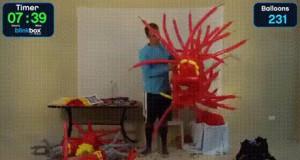 Balonowa zbroja Iron Mana