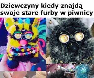 Dwa typy fanów Furby