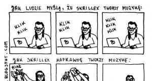 Skrillex i tworzenie muzyki