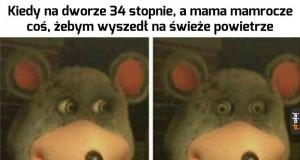 Mamo, proszę, nie...