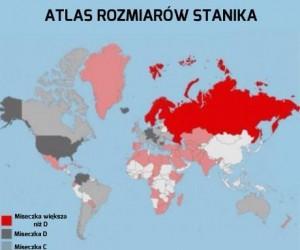 Atlas rozmiarów stanika