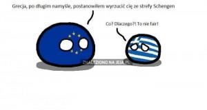 Grecja i strefa Schengen
