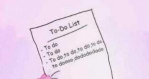 Plan dnia różowej pantery