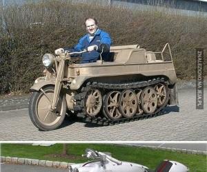 Najdziwniejsze motocykle świata