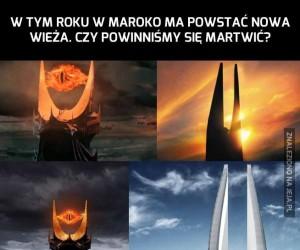 Sauron, ty niegrzeczny chłopczyku!