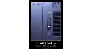 Email i bekon