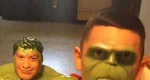Hulk mieć zamiana twarzy!