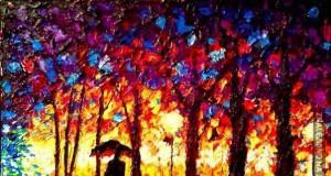 Obrazy niewidomego malarza - Johna Bramblitta
