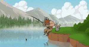 Mam dobry sposób na łowienie... Na chama
