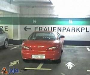 Specjalne miejsca parkingowe