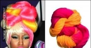 Nicki Minaj i jej włosy...