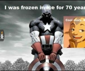 Aang zawstydził Kapitana Amerykę