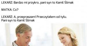 Jego siostra to Kaja Kajak