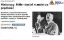 Hitler dostał mandat za prędkość