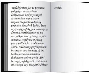 Definicja perfekcjonizmu