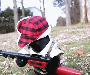 Gotowy na polowanie!