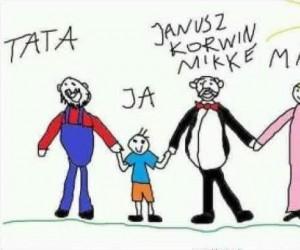 Idealny model rodziny według Kacperka