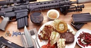 Śniadanie prawdziwego Amerykańca