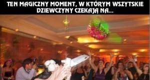 Magiczny moment na weselu
