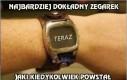 Brakuje mi takiego zegarka