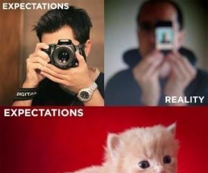 Zdjęcia telefonem: Oczekiwania vs. Rzeczywistość