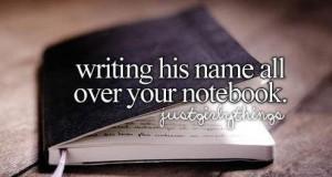 Napisać jego imię na okładce...