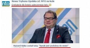 Ryszar Kalisz został tatą