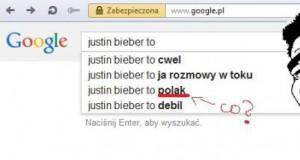 Google zwariowało...