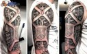 Epicki tatuaż